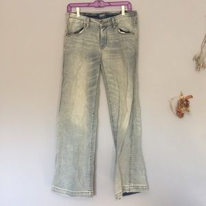 Urban Outfitters BCG Cropped Flared Jeans